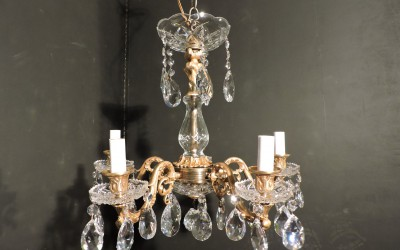 5 Light Bronze and Crystal 3 available
