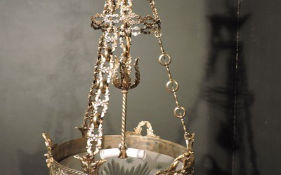 Bronze And French Chandelier