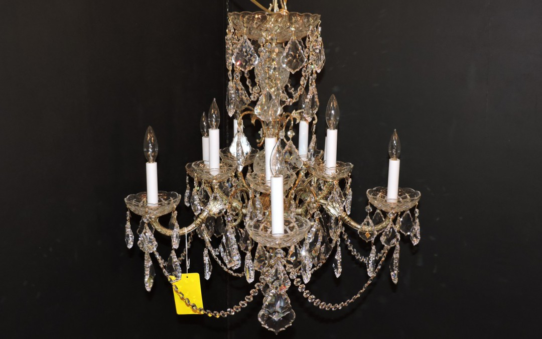 Chandelier 1950's Made In Spain